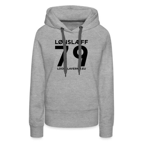 100014365_129748846_loons - Vrouwen Premium hoodie