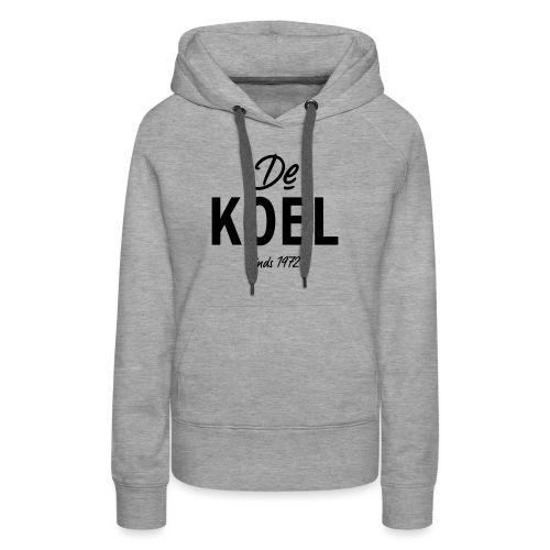 De Koel - Vrouwen Premium hoodie