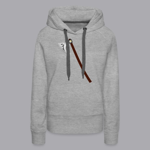 Wikinger Beil - Frauen Premium Hoodie