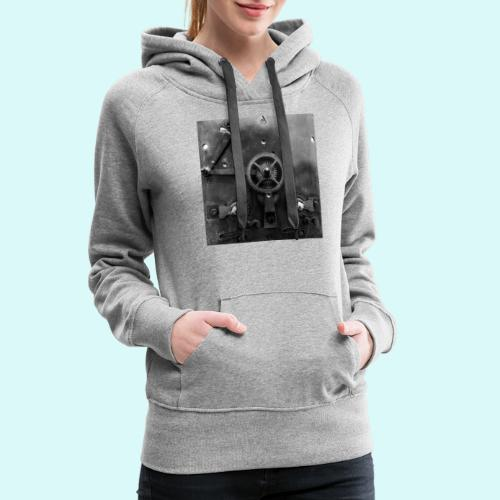 Le coffre - Sweat-shirt à capuche Premium pour femmes