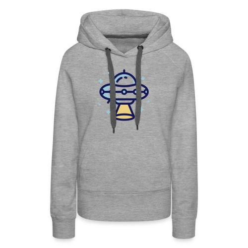 Space Spaceship - Vrouwen Premium hoodie