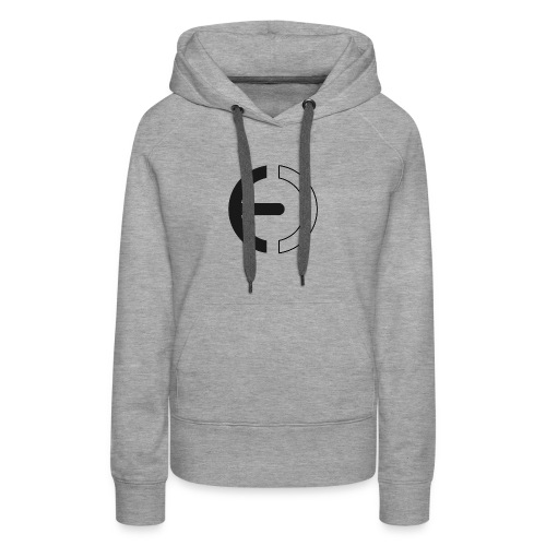 logo black only - Women's Premium Hoodie