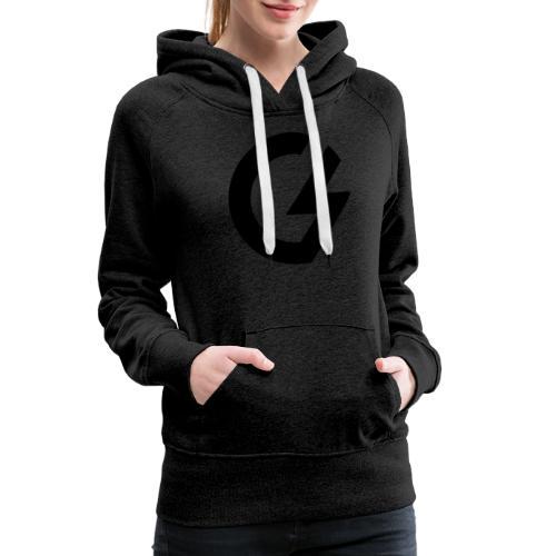 Giacomini Lab - Logo - Felpa con cappuccio premium da donna