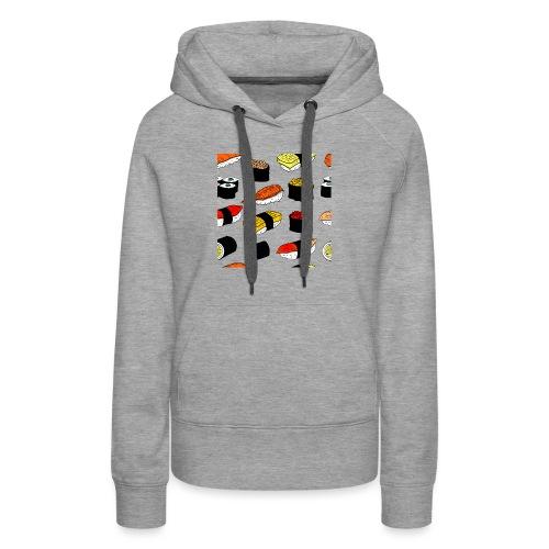 Sushi art - Vrouwen Premium hoodie