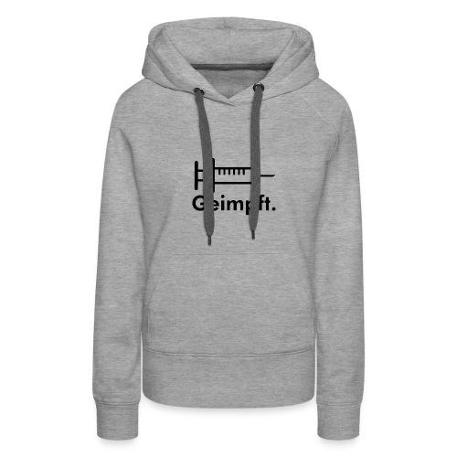 injection01 - Frauen Premium Hoodie