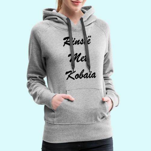 prisonnier sur Kobaia - Sweat-shirt à capuche Premium pour femmes