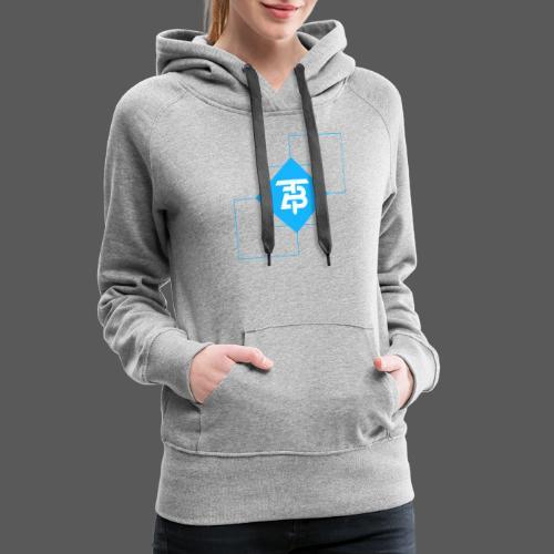 BTITANS Geometric Logo Print - Frauen Premium Hoodie