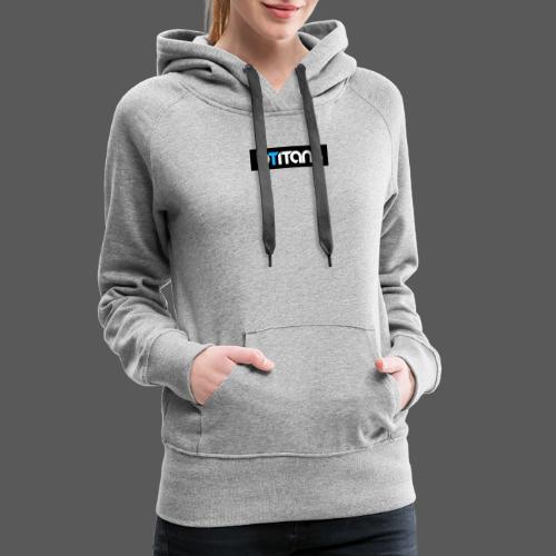 BTITANS Boxed Logo Print - Frauen Premium Hoodie