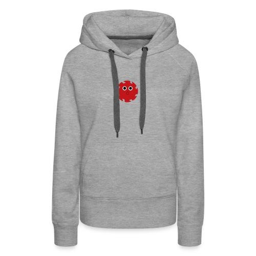 NGD Logo Klein (Zwart) - Vrouwen Premium hoodie