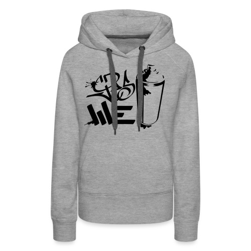 Yes We (spray)Can Graffiti handstyle tag - Frauen Premium Hoodie