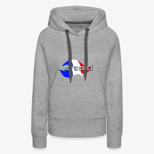 Collection LastWorld Drapeau Français - Sweat-shirt à capuche Premium pour femmes