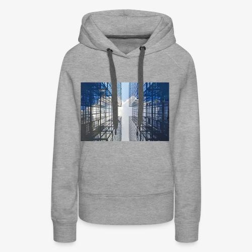 Skyscrapers - Frauen Premium Hoodie
