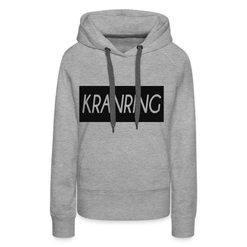 Kranring_Shirt_Logo - Premiumluvtröja dam