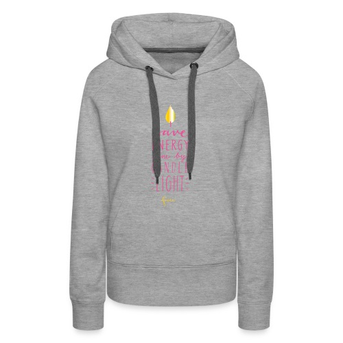 faina candle light - Frauen Premium Hoodie