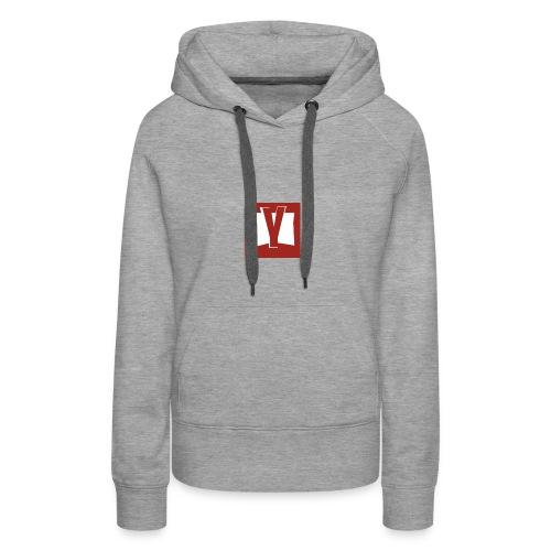 yy - Sweat-shirt à capuche Premium pour femmes