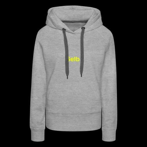 Gelb - Frauen Premium Hoodie