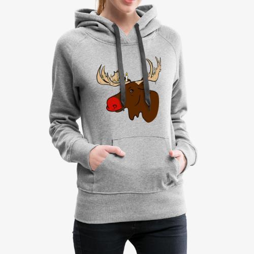 Christmas Moose - Frauen Premium Hoodie