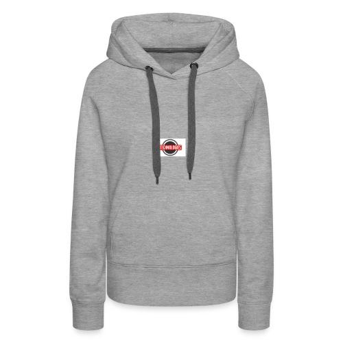 E technologie 2 - Sweat-shirt à capuche Premium pour femmes