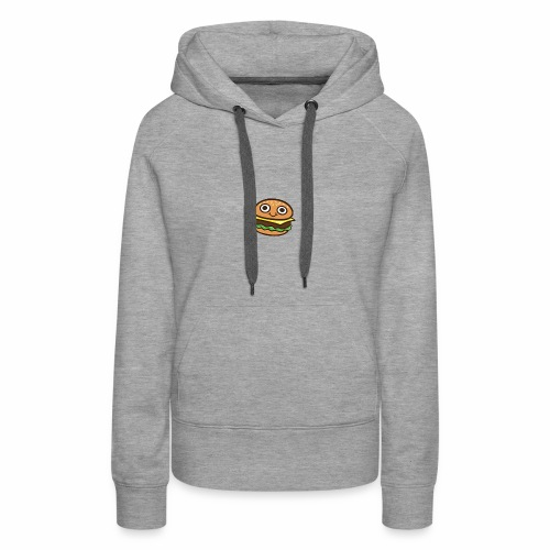 Burger Cartoon - Vrouwen Premium hoodie