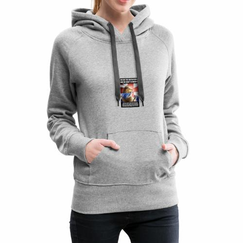 we are british people - Women's Premium Hoodie