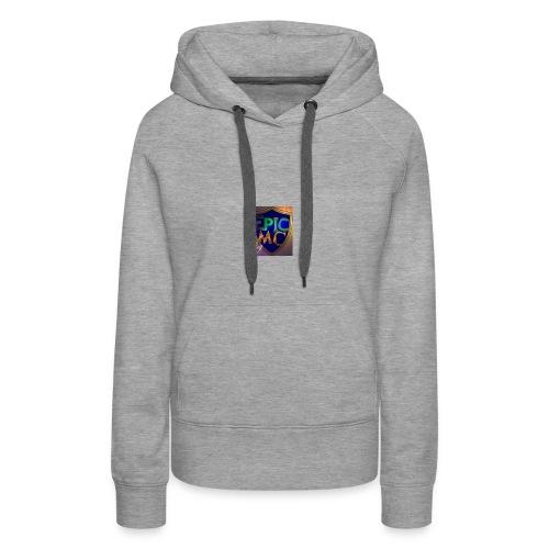 MineEpic Logo - Frauen Premium Hoodie