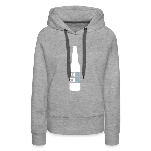 Inhale Exhale Craft Beer T Shirt - Women's Premium Hoodie