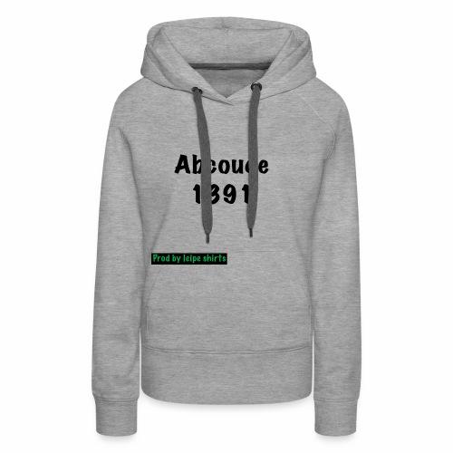 Abcoude post code merk - Vrouwen Premium hoodie
