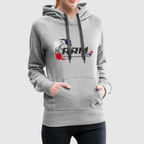 ARM OFFICIEL - Sweat-shirt à capuche Premium pour femmes