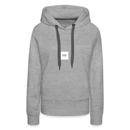 nieuwe shirt zijn binnen - Vrouwen Premium hoodie