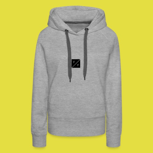 FakeYeezyHD Merch Kollektion 2.0 - Frauen Premium Hoodie