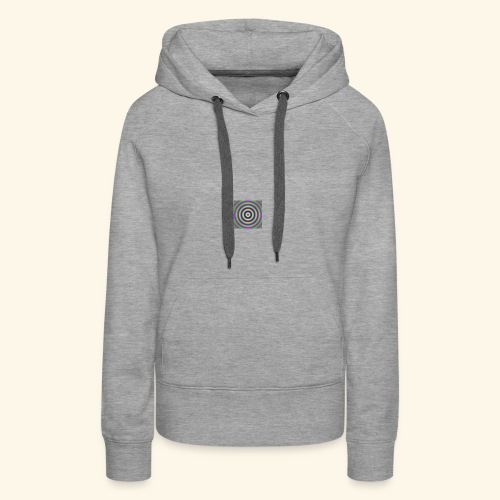 trouble color - Sweat-shirt à capuche Premium pour femmes