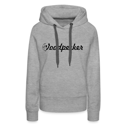Woodpecker Logo - Frauen Premium Hoodie