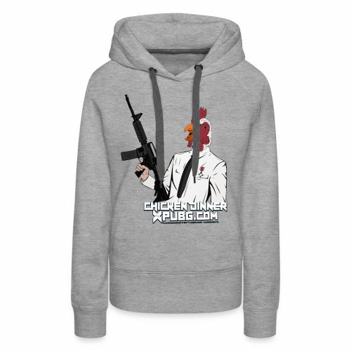 XPuBG Winner winner chicken dinner! - Women's Premium Hoodie