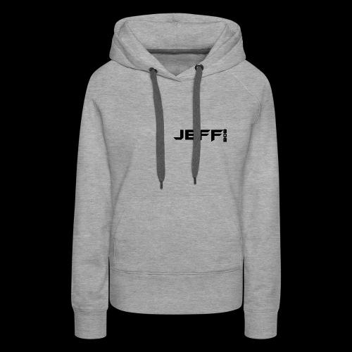 Jeff bob (small logo) - Women's Premium Hoodie