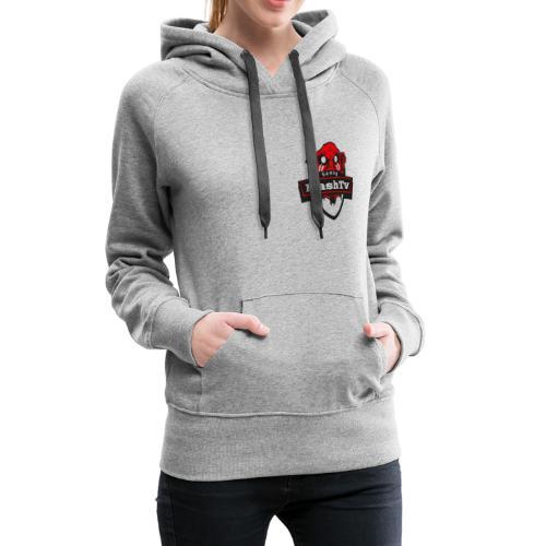 Transparentes Mash Merch Red/Black Logo - Frauen Premium Hoodie