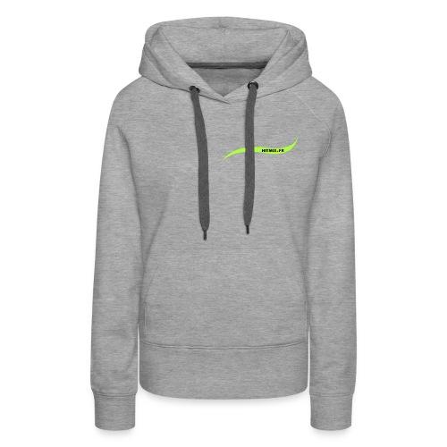 Hitmix.fr - Sweat-shirt à capuche Premium pour femmes