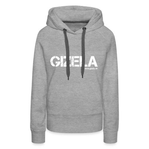 GIZELA white - Frauen Premium Hoodie