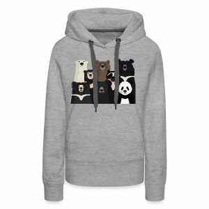 Bears of the world - Women's Premium Hoodie