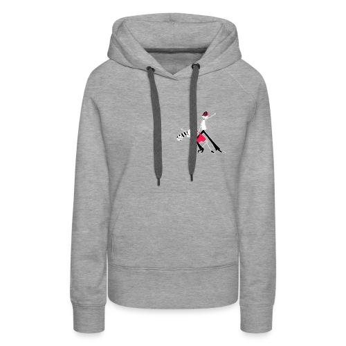 BREIZH Dance - Sweat-shirt à capuche Premium pour femmes