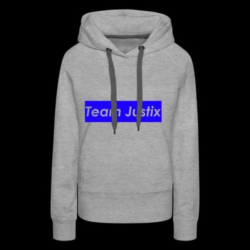 Team Justix im Supremestyle (blau) - Frauen Premium Hoodie