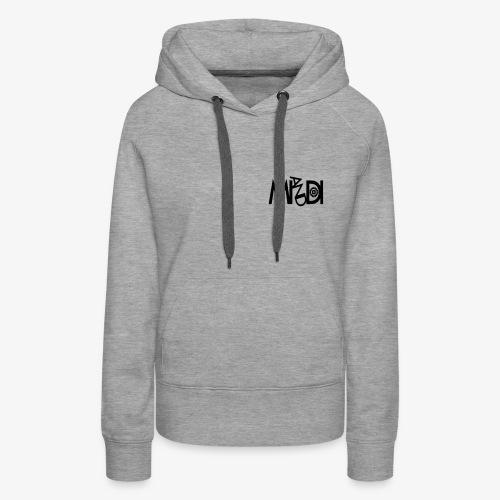 MI AND DI Logo - Frauen Premium Hoodie