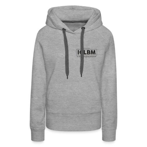 IGLBM Brust Logo - Frauen Premium Hoodie