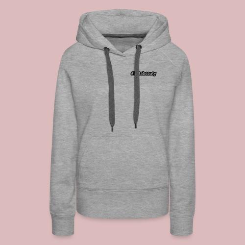 instabeauty schwarze outlines - Frauen Premium Hoodie