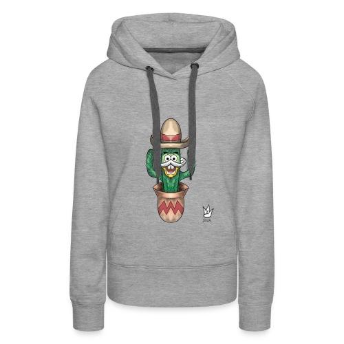 Kaktus - Frauen Premium Hoodie