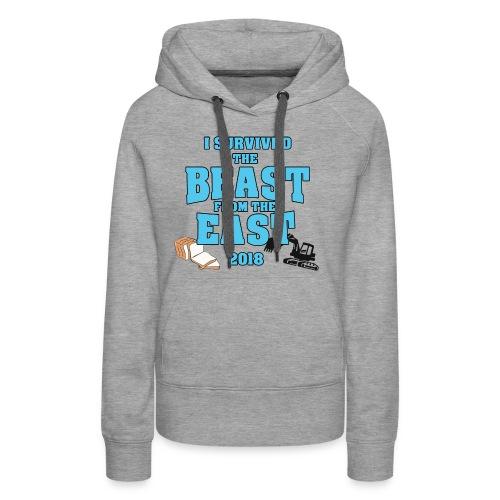 Beast from the East Survivor - Women's Premium Hoodie