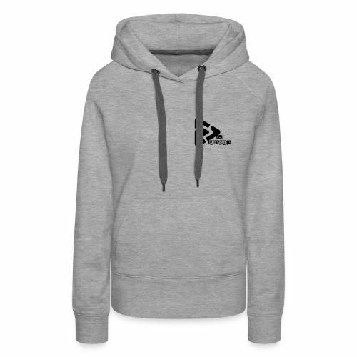 Der Unbekante schwarzes Logo - Frauen Premium Hoodie