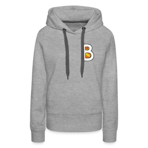 BanaantjePowerrr logo - Vrouwen Premium hoodie