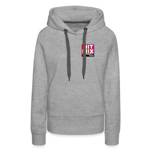 Hitmix Logo - Sweat-shirt à capuche Premium pour femmes