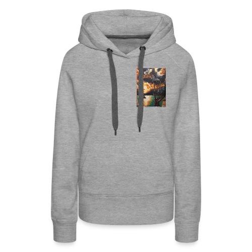 LA CORSE - Sweat-shirt à capuche Premium pour femmes