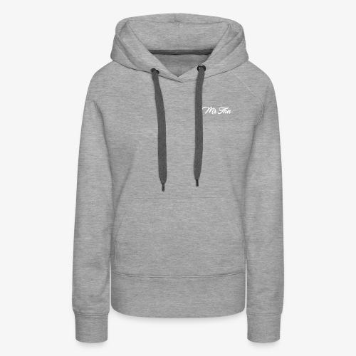 MrThn Pseudo - Sweat-shirt à capuche Premium pour femmes